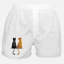cat buddies Boxer Shorts