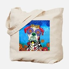 Cute Day of the dead wedding Tote Bag