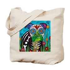 Cute Bull skull Tote Bag