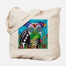 Unique Day of dead Tote Bag