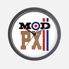 Mod Scooter Px Wall Clock