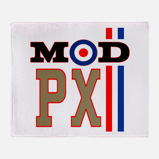 Mod Scooter PX Throw Blanket
