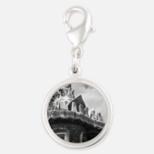 Guell Silver Round Charm