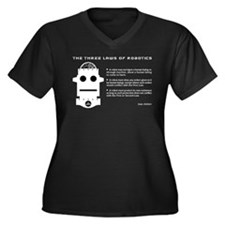 Three Laws of Robotics Plus Size T-Shirt