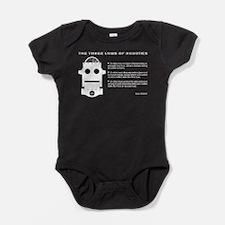 Three Laws of Robotics Baby Bodysuit