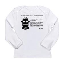 Three Laws of Robotics Long Sleeve T-Shirt