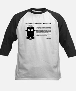 Three Laws of Robotics Baseball Jersey