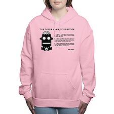 Three Laws of Robotics Women's Hooded Sweatshirt