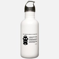 Three Laws of Robotics Sports Water Bottle