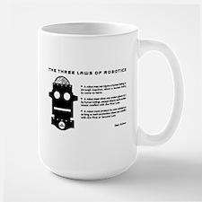 Three Laws Of Robotics Mugs