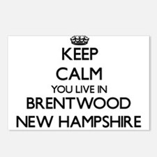 Keep calm you live in Bre Postcards (Package of 8)