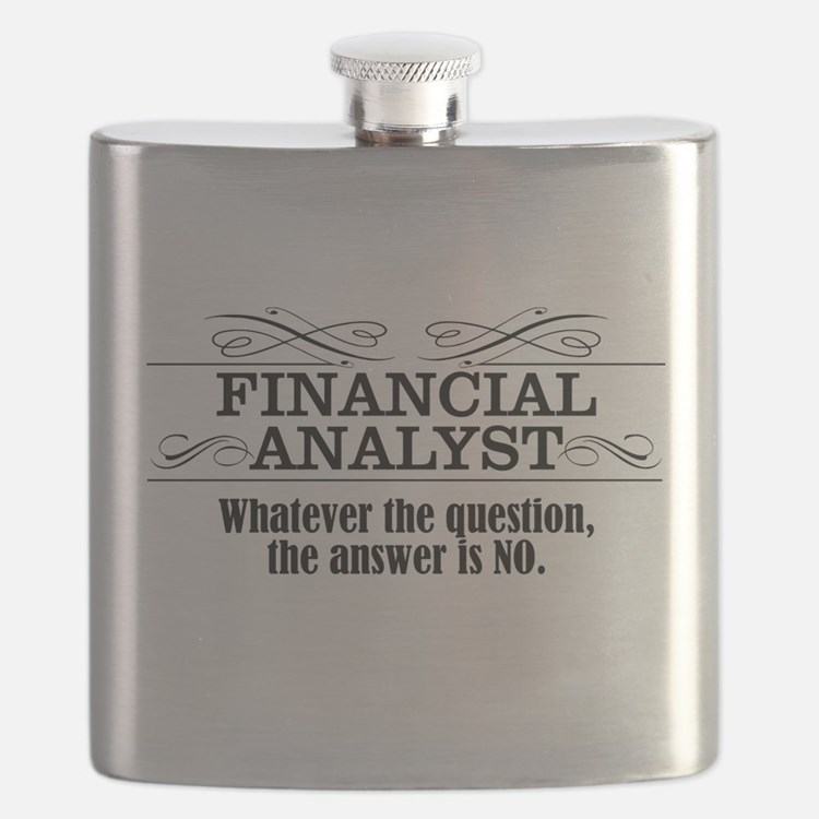 Cute Financial Flask