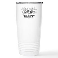 Analyst Travel Mug