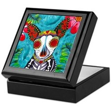 Cute Chihuahua art Keepsake Box