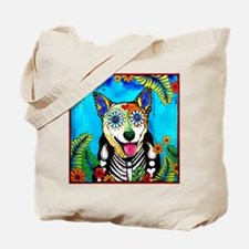 Funny Blue dogs Tote Bag