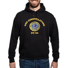USS Constellation CV-64 Hoodie