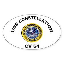 USS Constellation CV-64 Decal