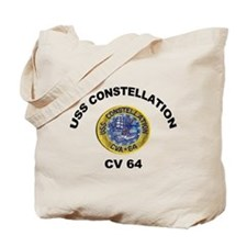 USS Constellation CV-64 Tote Bag