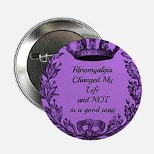 """fibromyalgia awareness 2.25"""" Button"""
