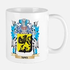 Sims Coat of Arms - Family Crest Mugs