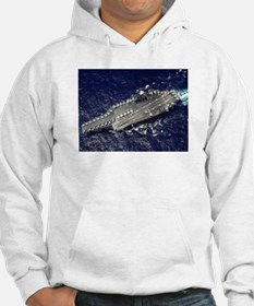 USS Constellation Ship's Image Hoodie