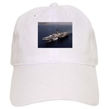 USS Constellation Ship's Image Baseball Cap