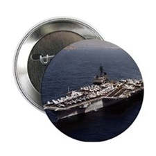 """USS Constellation Ship's Image 2.25"""" Button"""