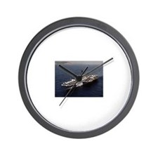 USS Constellation Ship's Image Wall Clock