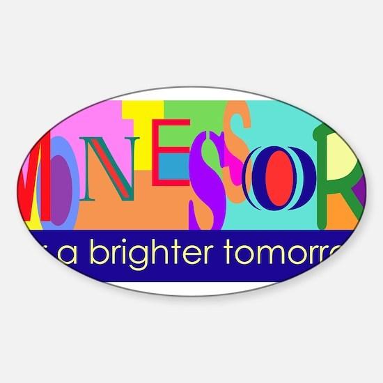 Unique Tomorrow Sticker (Oval)