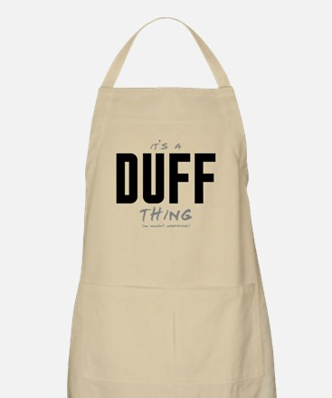 It's a Duff Thing Apron