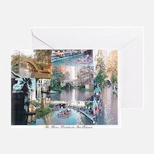 San Antonio Riverwalk-jk Greeting Card