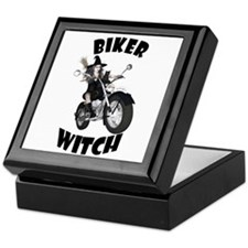 Biker Witch Keepsake Box