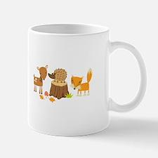 Woodland Animals Mugs