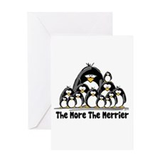 The More.. Penguin Group Greeting Card