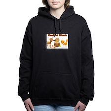 Woodland Friends Women's Hooded Sweatshirt