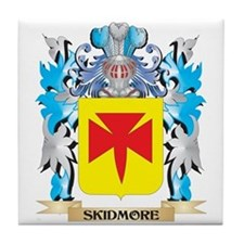 Skidmore Coat of Arms - Family Crest Tile Coaster