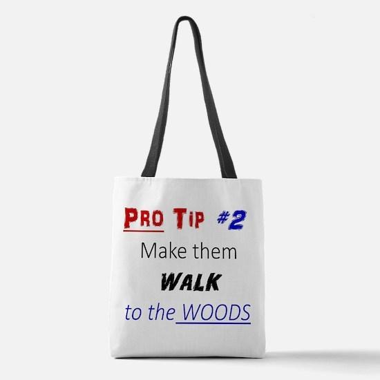 Pro Tip #2 Polyester Tote Bag