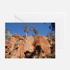 Elph Alligator Gorge Flinders Greeting Card