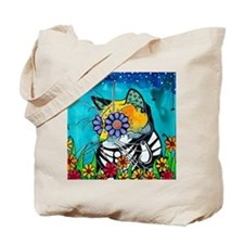 Cool Cat animals Tote Bag