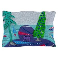 Bears and boats Pillow Case