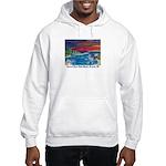 Carmel River State Beach Hooded Sweatshirt