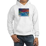 Carmel River State Beach Hooded Sweatshirt