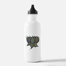 Solar Lotus Flower Stainless Water Bottle 1.0l