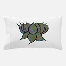 Solar Lotus Flower Pillow Case