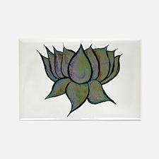 Solar Lotus Flower Magnets