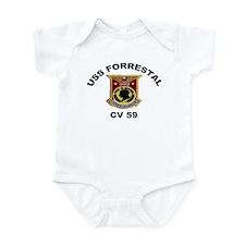 CV-59 Forrestal Infant Bodysuit