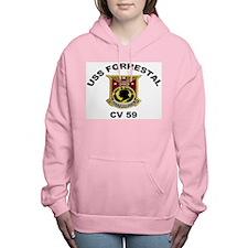 CV-59 Forrestal Women's Hooded Sweatshirt