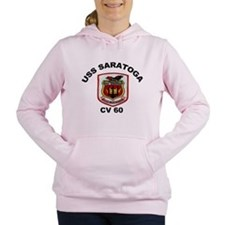 USS Saratoga CV-60 Women's Hooded Sweatshirt
