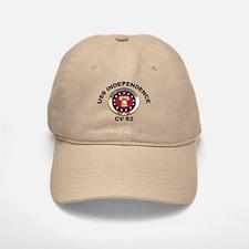 USS Independence CV-62 Baseball Baseball Cap