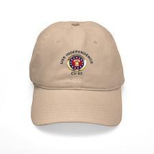 USS Independence CV-62 Baseball Cap
